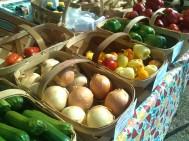 Produce from St. Helena Island