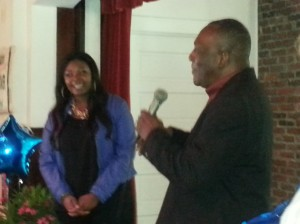 Ron Daise, Chairman of the Gullah Geechee Heritage Corridor Introduces Candice - remember him from Gullah Gullah Island?