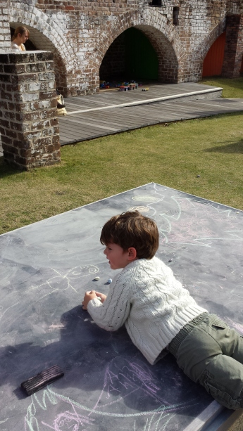 Crawling on the Chalk Table